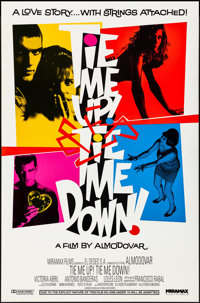 "Tie Me Up! Tie Me Down! & Other Lot (Miramax, 1990). Rolled, Overall: Very Fine. One Sheets (2) (27"" X 41&q..."