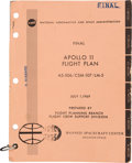 """Explorers:Space Exploration, Apollo 11 Training-Used: NASA """"Final Apollo 11 Flight Plan AS-506 / CSM-107 / LM-5"""" July 1, 1969-dated Book Directly f..."""
