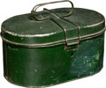 Explorers:Space Exploration, Neil Armstrong's First School Lunch Pail, Made by Handy Circa Mid-1930s, Directly from the Collection of His Niece Ellen. ...