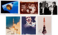 Explorers:Space Exploration, Wally Schirra: Collection of Six Signed Photos, Directly from His Family's Collection....