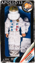 Explorers:Space Exploration, Apollo 13: Kenner 1995 Astronaut Figure Signed by Mission Lunar Module Pilot Fred Haise, with Accessories, in Original Box. ...