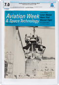 Explorers:Space Exploration, Neil Armstrong Magazine Collection: Aviation Week & Space Technology Dated February 17, 1969, Directly From The Ar...