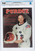 Explorers:Space Exploration, Neil Armstrong's Copy of The Purdue Alumnus Dated July-August, 1989, Directly From The Armstrong Famil...