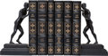 Explorers:Space Exploration, Buzz Aldrin's Astronauts Library: Six Leather-Bound Easton Press Limited Edition Books, Four Signed with Matching Serial Numbe...