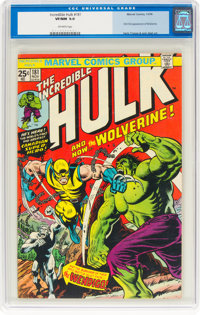 The Incredible Hulk #181 (Marvel, 1974) CGC VF/NM 9.0 Off-white pages