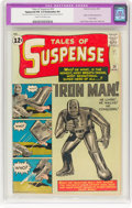 Silver Age (1956-1969):Superhero, Tales of Suspense #39 (Marvel, 1963) CGC Apparent FN 6.0 Cream tooff-white pages....