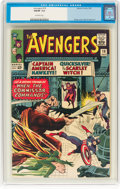 Silver Age (1956-1969):Superhero, The Avengers #18 (Marvel, 1965) CGC FN/VF 7.0 Off-white pages....