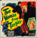 "Movie Posters:Crime, The Woman from Tangier (Columbia, 1948). Folded, Fine/Very Fine.Six Sheet (79"" X 80""). Crime.. ..."