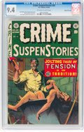 Golden Age (1938-1955):Crime, Crime SuspenStories #24 Gaines File Pedigree 7/12 (EC, 1954) CGC NM 9.4 Off-white to white pages....