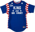 Baseball Collectibles:Uniforms, 1990's Eddie Feigner Game Worn & Signed King and His Court Jersey. ...