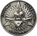Explorers:Space Exploration, Space Shuttle Columbia (STS-3) Flown Silver Robbins Medallion, Serial Number 6F, Originally Presented to Tom Staff...