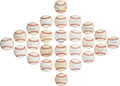 Autographs:Baseballs, 1990's-2000's Hall of Fame Pitchers Single Signed Baseball Lot of 26.... (Total: 26 items)
