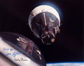 Explorers:Space Exploration, Gemini 7: Crew-Signed Large Rendezvous Color Photo....
