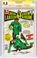 Green Lantern #87 Signature Series - Neal Adams (DC, 1971) CGC NM/MT 9.8 Off-white to white pages