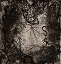 Fine Art - Work on Paper:Print, Moshe Gershuni (1936-2017). Exalted and Lauded (twoworks), 1989. Etching with aquatint on ...
