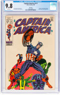 Silver Age (1956-1969):Superhero, Captain America #111 Twin Cities Pedigree (Marvel, 1969) CGC NM/MT 9.8 White pages....
