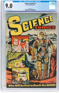 Golden Age (1938-1955):Science Fiction, Science Comics #1 (Export Publication Ent., 1951) CGC VF/NM 9.0 Off-white to white pages....
