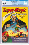 Golden Age (1938-1955):Adventure, Super Magic Comics #1 (Street & Smith, 1941) CGC FN- 5.5 White pages....