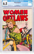 Golden Age (1938-1955):Crime, Women Outlaws #4 (Fox Features Syndicate, 1949) CGC FN+ 6.5 Off-white to white pages....