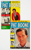 Silver Age (1956-1969):Romance, Pat Boone #1 and 4 Group (DC, 1959-60)....
