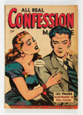 Golden Age (1938-1955):Romance, Fox Giants: All Real Confession (Fox Features Syndicate, 1950)Condition: VG....