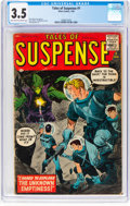 Silver Age (1956-1969):Science Fiction, Tales of Suspense #1 (Marvel, 1959) CGC VG- 3.5 Light tan to off-white pages....