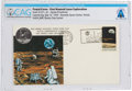 Explorers:Space Exploration, Apollo 11 Lunar Landing Cover Cancelled at Kennedy Space Center, Florida, Directly From The Armstrong Family Collection™, ...