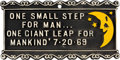"""Explorers:Space Exploration, """"One Small Step For Man..."""" Commemorative Plaque Given to Neil Armstrong by NASA Historian Eugene M. Emme Directly From The Arms..."""