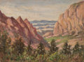 Texas:Early Texas Art - Impressionists, Rolla Sims Taylor (American, 1872-1970)A Vi...