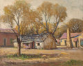 Texas:Early Texas Art - Impressionists, Rolla Sims Taylor (American, 1872-1970). Irish Flats. Oil oncanvasboard. 15-7/8 x 19-7/8 inches (40.3 x 50.5 cm). Signe...