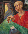 Texas:Early Texas Art - Regionalists, Olin Travis (American, 1888-1975). Man of Vision. Oil oncanvas. 30 x 25 inches (76.2 x 63.5 cm). Signed lower left:O...