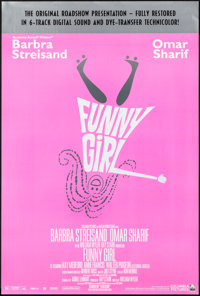 """Funny Girl (Columbia, R-1996). Rolled, Very Fine/Near Mint. One Sheet (26.75"""" X 39.75"""") SS Restored Roadshow S..."""