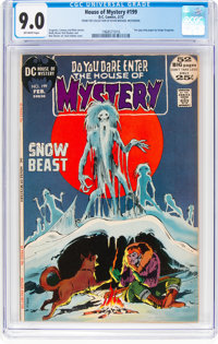 House of Mystery #199 (DC, 1972) CGC VF/NM 9.0 Off-white pages