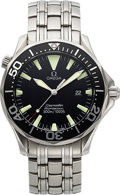 Timepieces:Wristwatch, Omega, Seamaster Professional 300 M, Stainless Steel, Quartz, Ref. 2264.50.00, Circa 2000s. ...