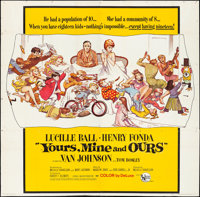 "Yours, Mine and Ours (United Artists, 1968). Folded, Fine/Very Fine. Six Sheet (79.25"" X 78.5"") Frank Frazetta..."