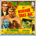 "Movie Posters:Sports, Joe Palooka in Winner Take All (Monogram, 1948). Folded, Fine/Very Fine. Six Sheet (79.5"" X 80). Sports.. ..."