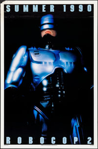 "RoboCop 2 & Other Lot (Orion, 1990). Rolled, Fine/Very Fine. One Sheets (2) (27"" X 41"" & 27&qu..."
