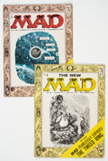 Magazines:Mad, MAD #25 and 26 Group (EC, 1955).... (Total: 2 Comic Books)