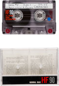 Explorers:Space Exploration, Space Shuttle Columbia (STS-55) Flown Personal Music Tape Directly from the Personal Collection of Mission Payload Commander J...