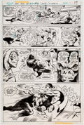 Original Comic Art:Panel Pages, Pablo Marcos and Bob Smith Secret Society of Super-Villains#1 Page 11 Original Art (DC, 1976)....