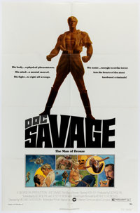 Doc Savage: The Man of Bronze Movie Poster One Sheet (Warner Brothers, 1975)