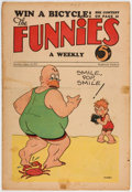 Platinum Age (1897-1937):Miscellaneous, The Funnies #29 (Dell, 1930) Condition: FR....