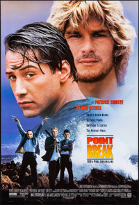 "Point Break & Other Lot (20th Century Fox, 1991). Rolled, Very Fine. One Sheets (3) (27"" X 40"" & 26.75..."