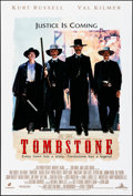 "Movie Posters:Western, Tombstone (Buena Vista, 1993). Rolled, Very Fine. One Sheet (27"" X40"") DS. Western.. ..."