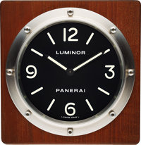Panerai OP 6676 Table Clock