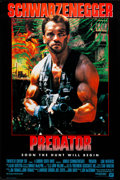 """Movie Posters:Science Fiction, Predator (20th Century Fox, 1987). Rolled, Very Fine+.International One Sheet (26.25"""" X 39.5"""") SS Advance. Science F..."""