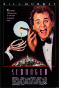 "Movie Posters:Comedy, Scrooged (Paramount, 1988). Rolled, Very Fine+. One Sheet (27"" X 40"") SS. Comedy.. ..."