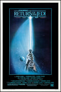 "Movie Posters:Science Fiction, Return of the Jedi (20th Century Fox, 1983). Rolled, Very Fine/NearMint. One Sheet (27"" X 41"") Style A, Tim Reamer Artwork...."