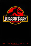 "Movie Posters:Science Fiction, Jurassic Park (Universal, 1993). Rolled, Very Fine+. One Sheet(26.75"" X 39.75"") DS Advance, Chip Kidd and Sandy Collora Art..."
