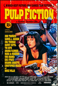 """Pulp Fiction (Miramax, 1994). Rolled, Very Fine/Near Mint. One Sheet (27"""" X 40"""") SS. Crime"""